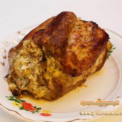запеченная свиная корейка в духовке
