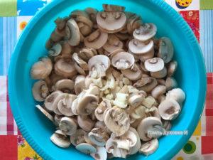 грибной крем суп рецепт со сливками