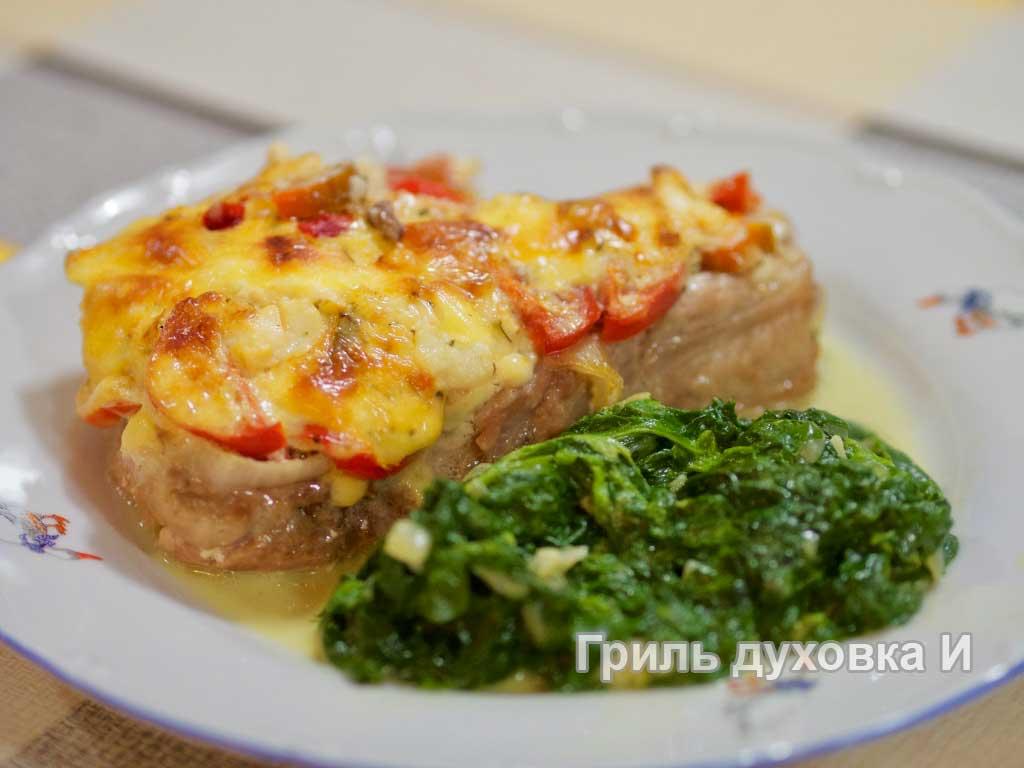 Мясо по французски.