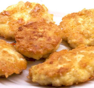 котлеты из куриной грудки с сыром