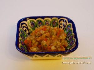 Хоровац армянский (или овощи на гриле)