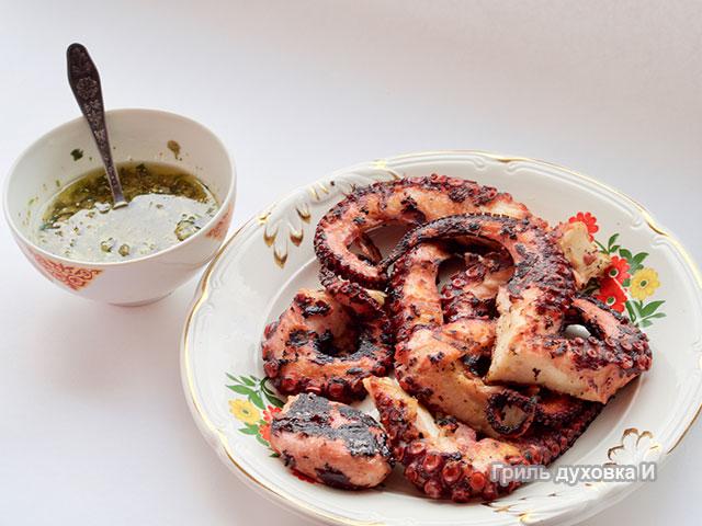 Соус для осьминога на гриле