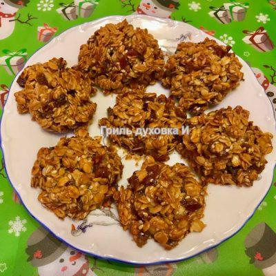 рецепт овсяных печений