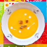 Суп пюре из тыквы. За 20 минут.