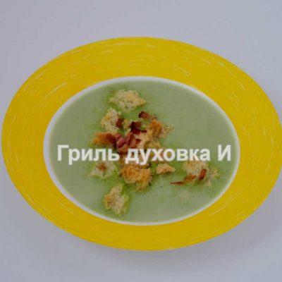 суп пюре из зеленого горошка