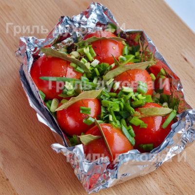 помидоры в духовке