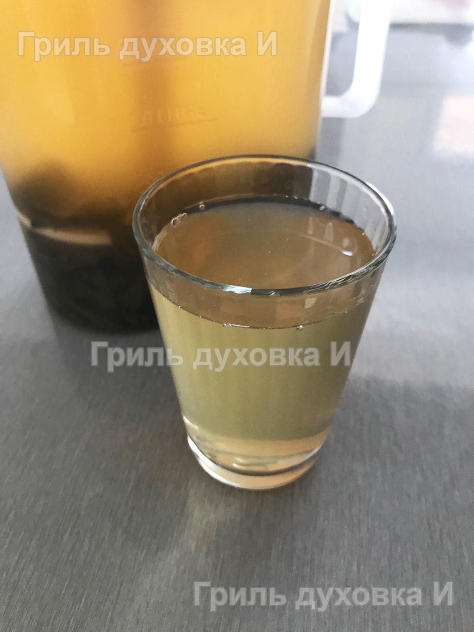 Домашний лимонад с мятой.
