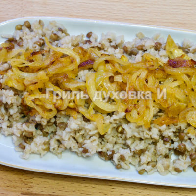 рис с чечевицей