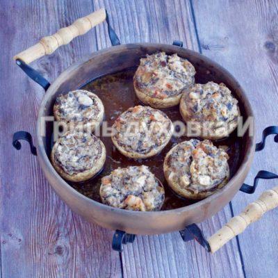 фаршированные грибы