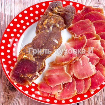 сыровяленая свинина