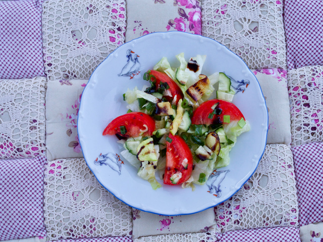 Свежий салат.