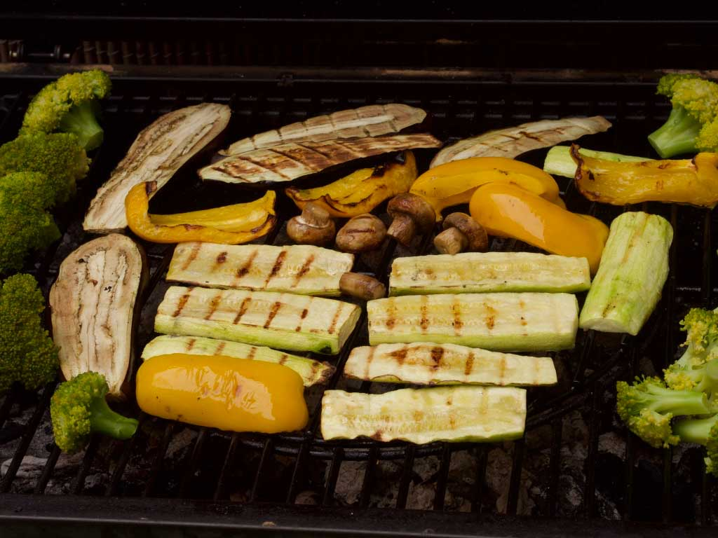 Как приготовить вкусные овощи на гриле